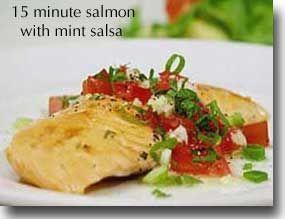 Receta saludable - Salmon