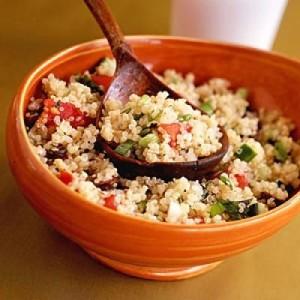 Receta de tabbouleh de quinoa