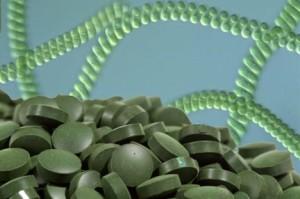 espirulina en pastillas