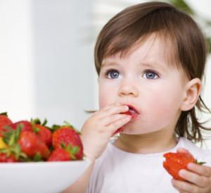 Las frutas son indispensables para una dieta saludable en los niños